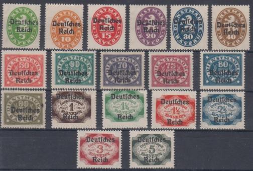 034 - Deutsches Reich Dienst Nr. 34 - 51