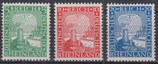 372 - Deutsches Reich Nr. 372 - 374