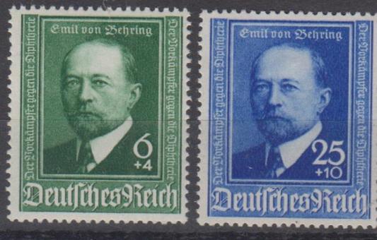 760 - Deutsches Reich Behring Nr. 760 + 761