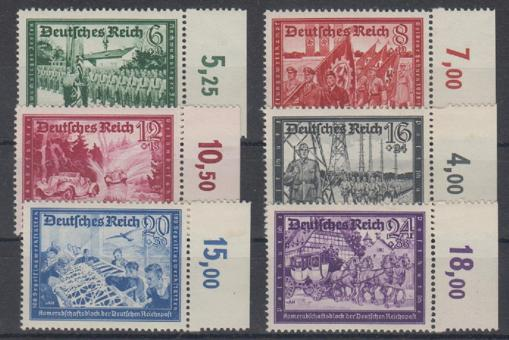 773 - Deutsches Reich Kameradschaftsblock II Nr. 773 - 778
