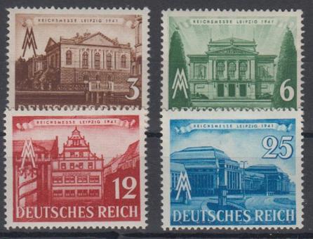 764 - Deutsches Reich Nr. 764 - 767