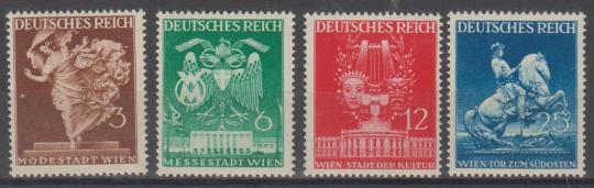 768 - Deutsches Reich Nr. 768 - 771