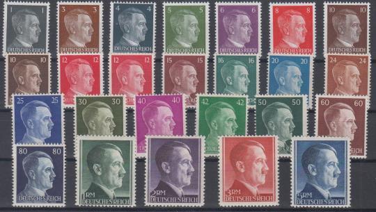 781 - Deutsches Reich Nr. 781 - 802