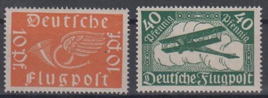 111 - Deutsches Reich Infla Nr. 111 + 112