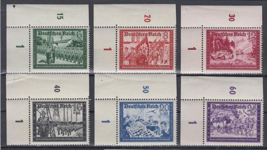 773 - Deutsches Reich Kameradschaftsblock 2 Nr. 773 - 778