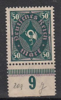 209 - Deutsches Reich Nr. 209 Y