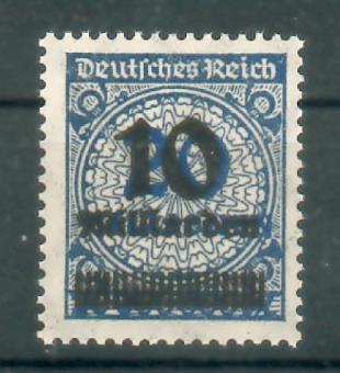 335 - DR Infla Nr. 335 A Wa
