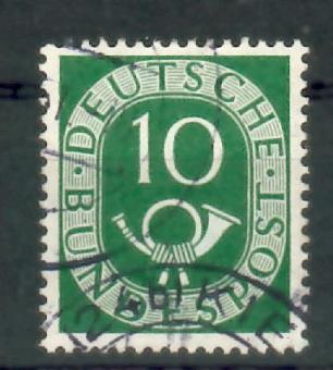 0128 - Bund Posthorn Nr. 128 I