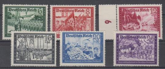 773 - Deutsches Reich Kameradschaftsblock 2 Nr. 773-778
