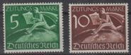 738 - Deutsches Reich Z 738 + 739